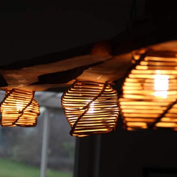 gevlochten lamp
